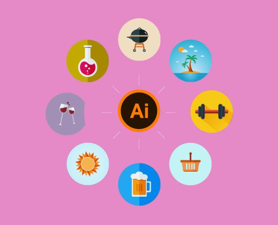 How To Create Flat Design Icons in Adobe Illustrator